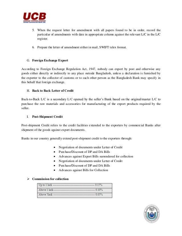 Internship report on united commercial bank ltd 39 5 when the request letter spiritdancerdesigns Images