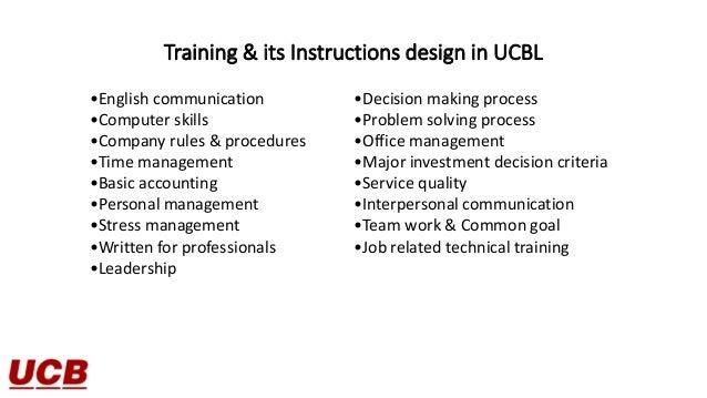 Internship report on ucbl bank