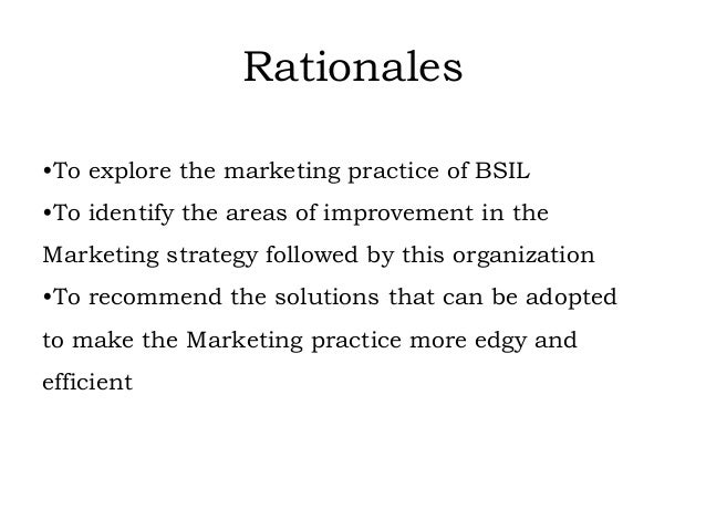 internship report on the marketing practice Acknowledgement sample for internship report  the internship opportunity i had with [name of the company] was a great chance for learning and professional .