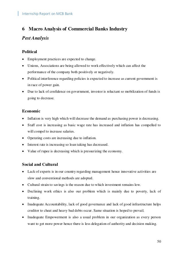 Internship Report MCB-Bank Ltd