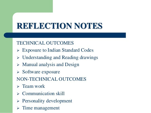 Internship Report On Building Construction - Resume Examples