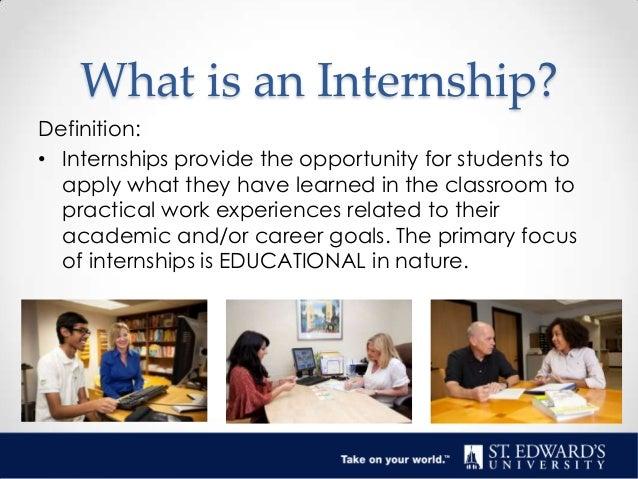 internships 101