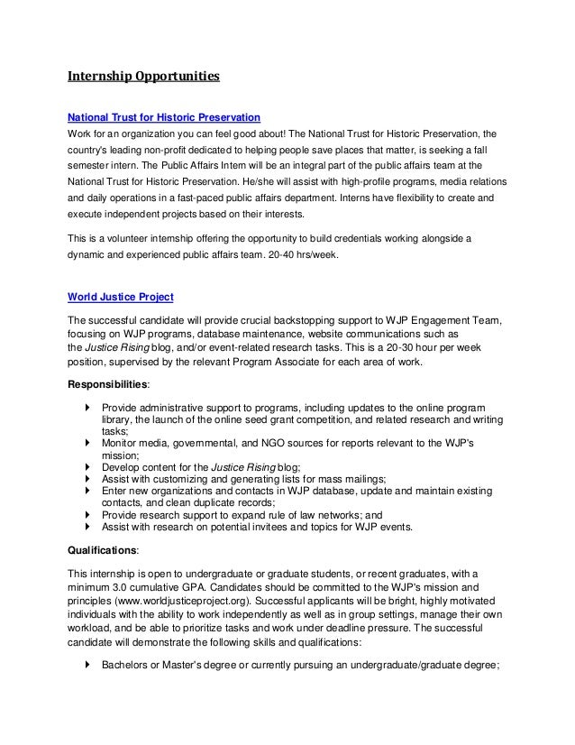 Application Letter Sample Internship Application Letter Ngo