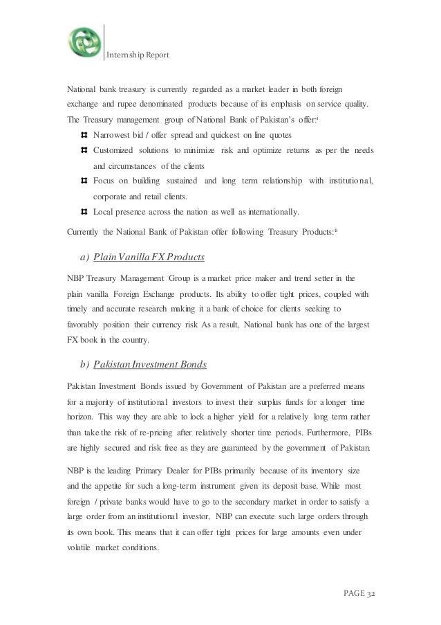 internship report on cooperative bank