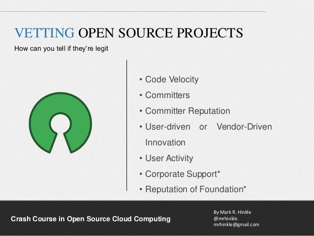 Interop - Crash Course In Open Source Cloud Computing