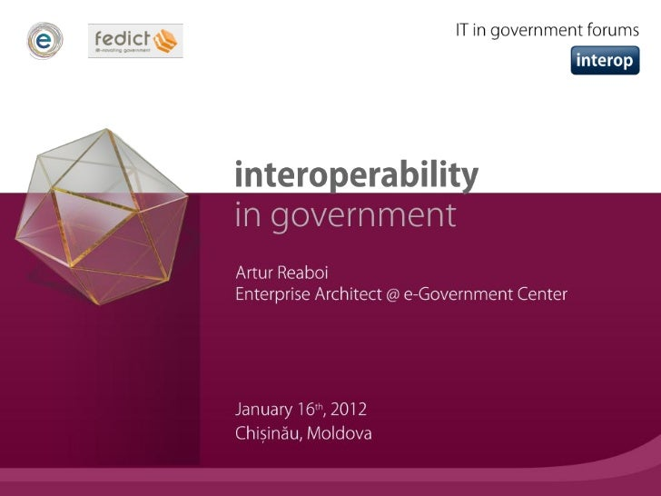 • Interoperability is a property referring to the ability of  diverse systems and organizations to work together (inter-  ...