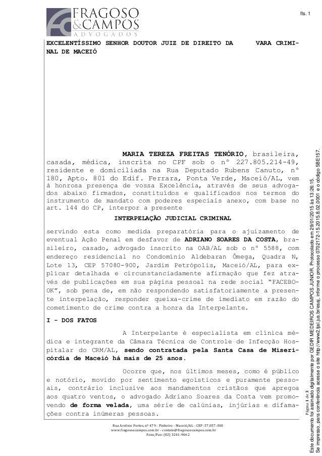 Rua  Arsênio  Fortes,  nº  479  -‐  Pinheiro  -‐  Maceió/AL  -‐  CEP:  57.057-‐300       ...