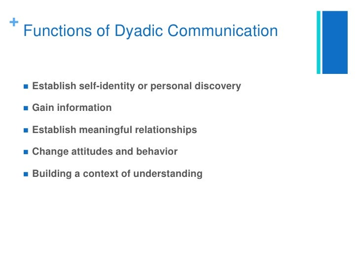 dyadic communication