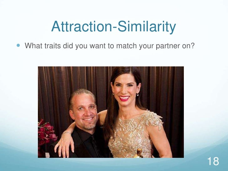 Attraction-Similarity<br />What traits did you want to match your partner on?  <br />18<br />