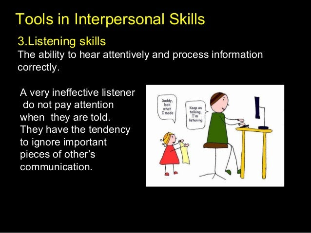 developing interpersonal communication skills This videojug presentation shows you how to improve your interpersonal skills with the aid of some simple coaching techniques subscribe  .