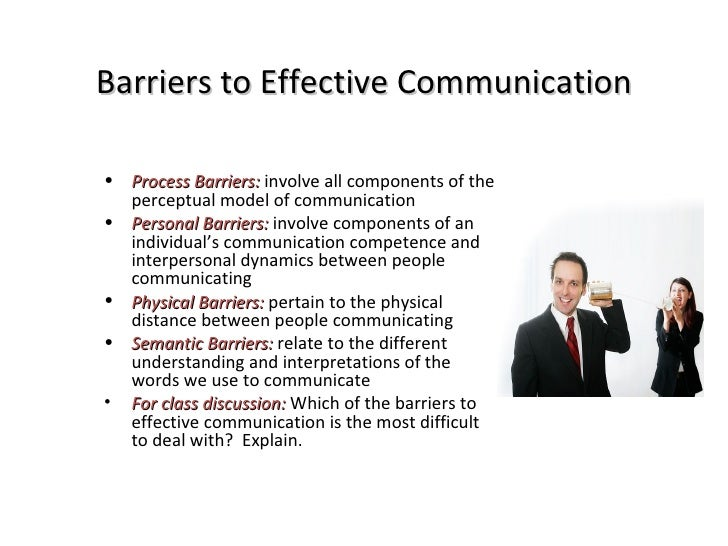 barriers in classrom communication essay Communication barriers in the classroom certainly make it difficult for students to  get the most out of their education many times, teachers fail to.
