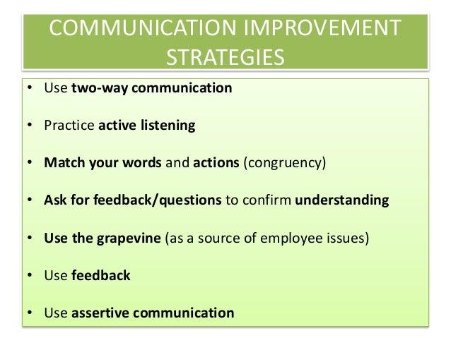 Effective Communication Between Workplace Peers