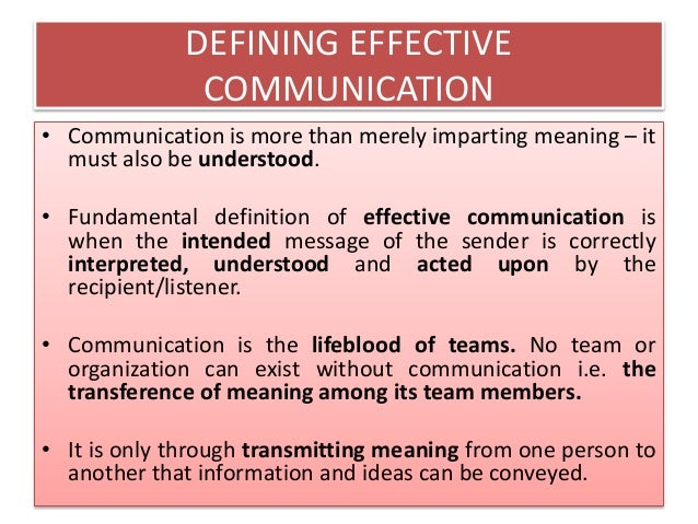 essay on effective communication skills Essay on skills for an effective communication 1261 words | 6 pages this is an example of children learning through nonverbal communication, if a child was.