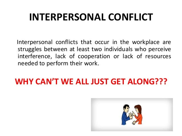 Interpersonal Conflict And Mid Life Blues
