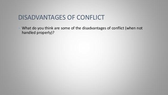 Conflict Management DQ