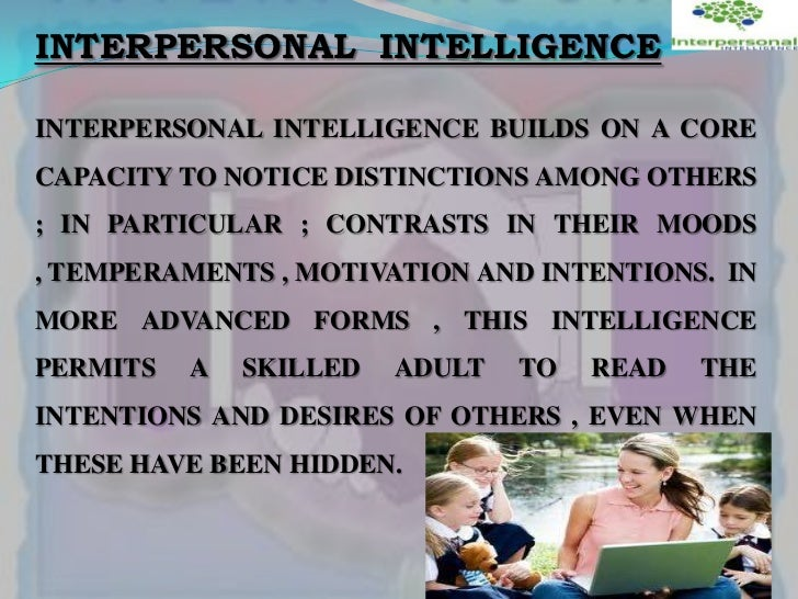 the difference between interpersonal and intrapersonal