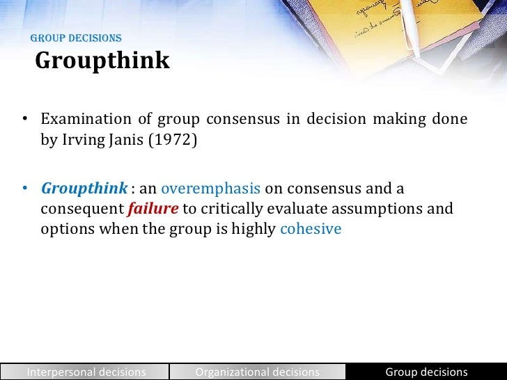 groupthink and risky shift phenomenon Groupthink is a psychological phenomenon that occurs within a group of people in which the desire for harmony or conformity  risky shift scapegoating social.