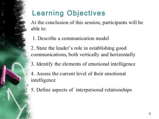interpersonal relationship in organization 1 chapter 1: a framework for interpersonal skill development the first chapter sets the stage for improving interpersonal relations in organizations.