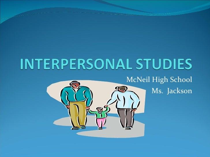 McNeil High School Ms.  Jackson