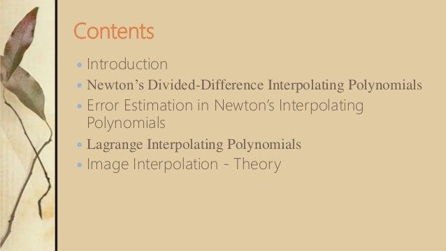Interpolation Slide 3