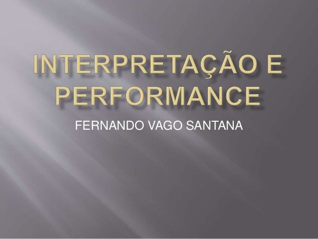 FERNANDO VAGO SANTANA