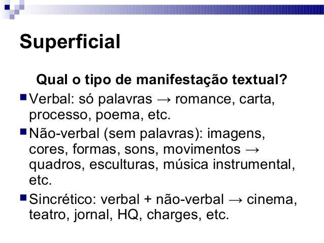 Níveis de interpretação de um texto Slide 2
