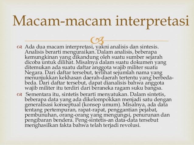 Interpretasi Power Point