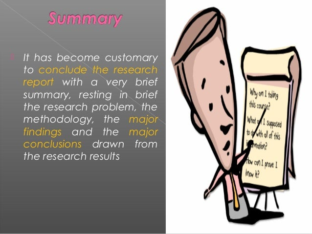 data analysis and report writing in research methodology
