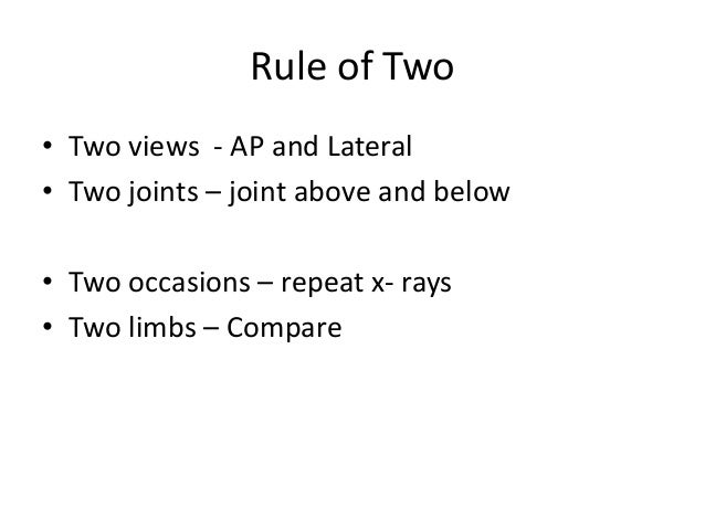 Interpretation of musculoskeletal x  rays Slide 3