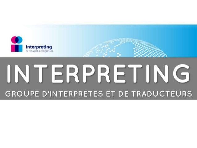 d'interprètes de conférence et de traducteurs