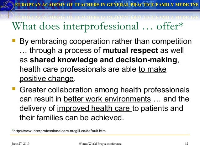 inter professional collaboration in practice Inter-professional team work  rwjf - interprofessional collaboration:  total practice solutions - traknet 11,300 views.