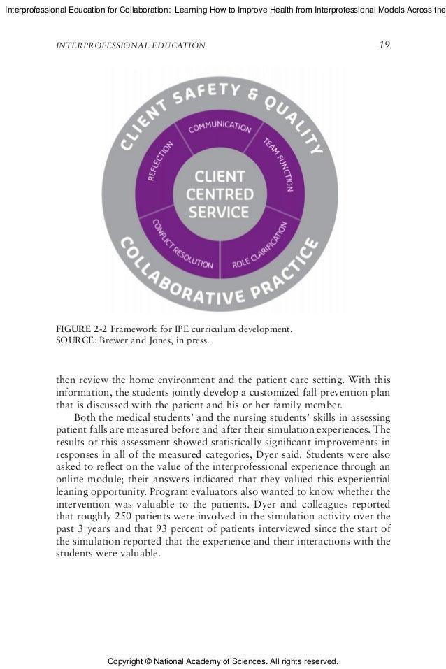 Interprofessional collaboration: three best practice models of interprofessional education