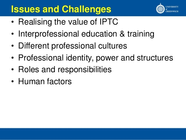 Collaborative Teaching Roles And Responsibilities ~ Interprofessional team collaboration in hospitals by b k
