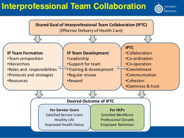 Interprofessional Team Collaboration In Hospitals By B K