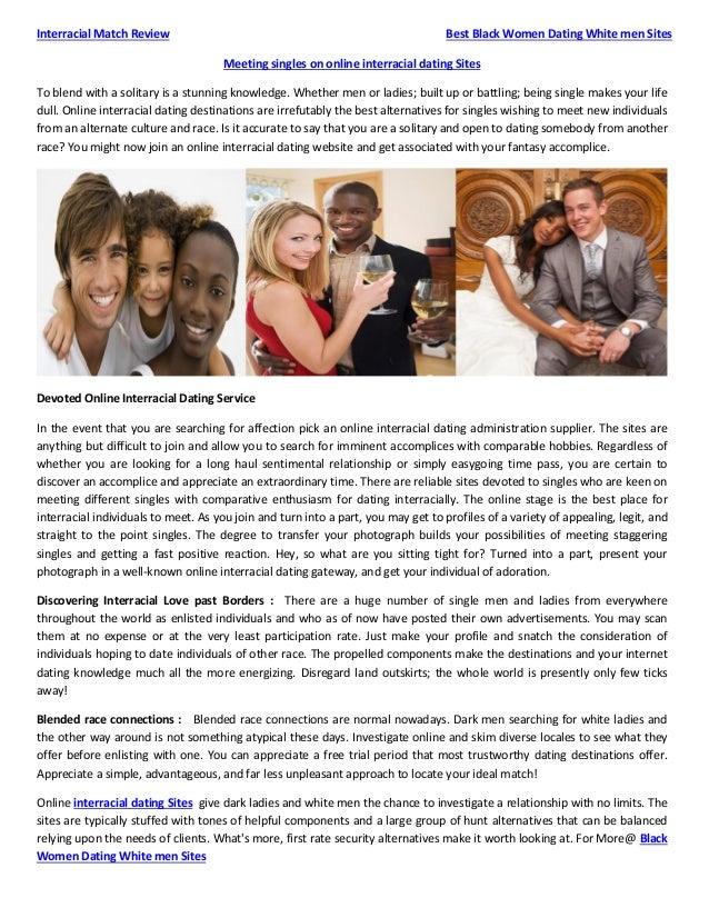 Gratis svart Interracial Dating Sites Speed dating hendelser i Brisbane