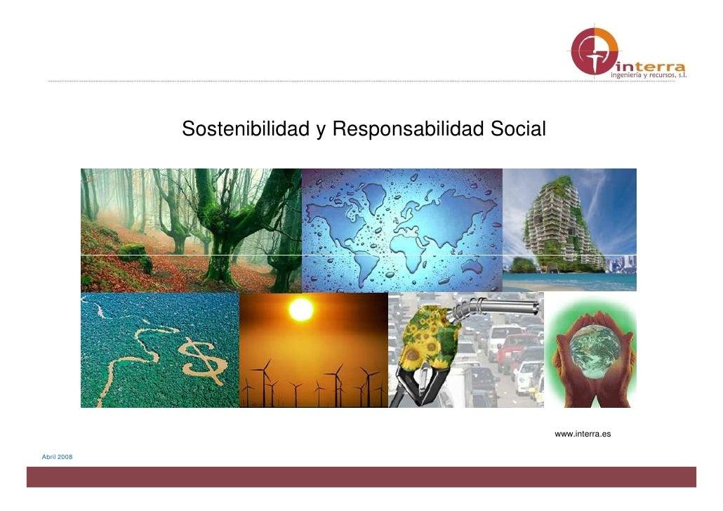 Sostenibilidad y Responsabilidad Social                                                                          www.inter...