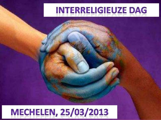 Interreligieuze dag