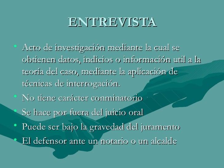 INTERROGATORIOS Y CONTRAINTERROGATORIOS Slide 2