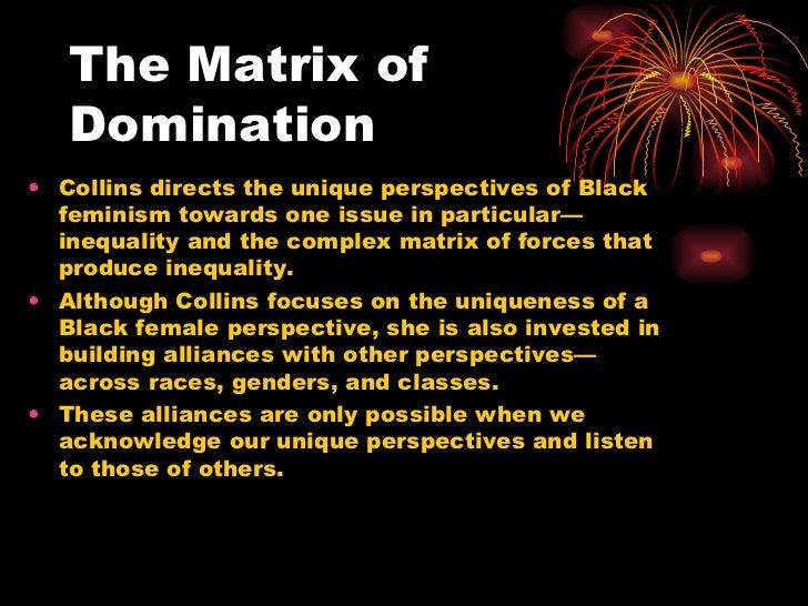 Matrix Of Domination 62
