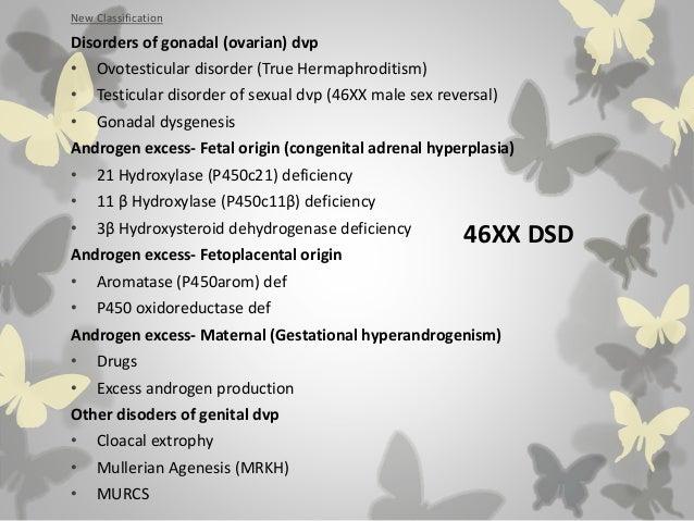 Intersex presentation