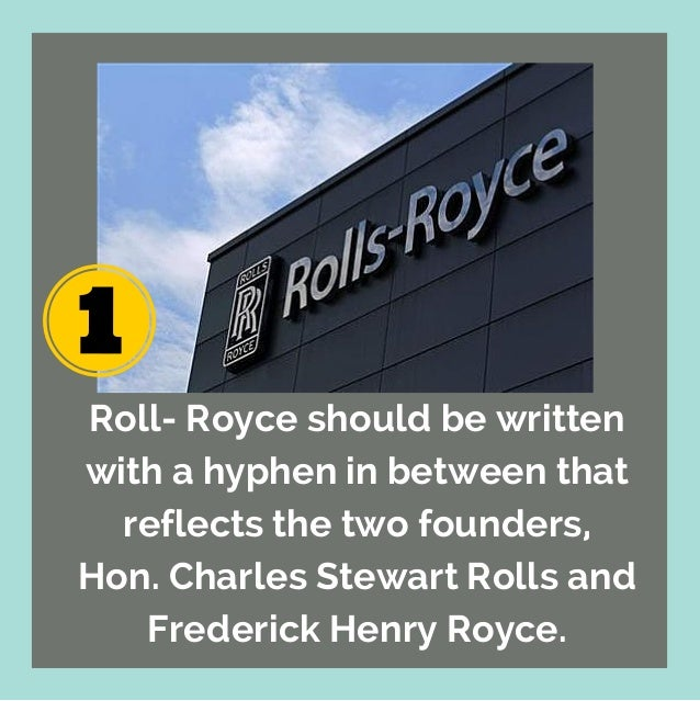 Interesting facts about Rolls-Royce Cars Slide 2
