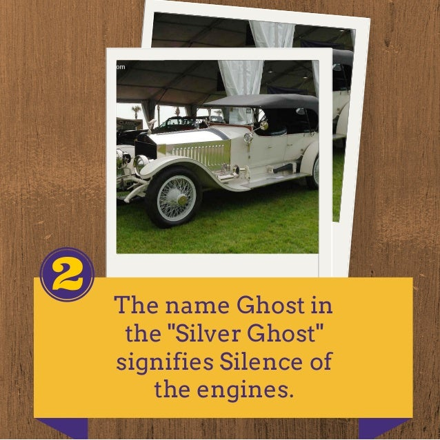 Interesting facts about Rolls-Royce Cars Slide 3