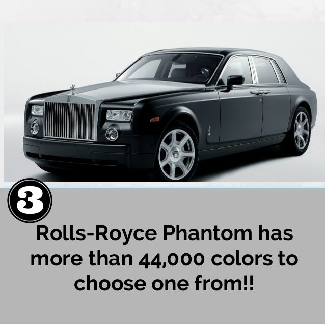 Interesting facts about Rolls-Royce Cars