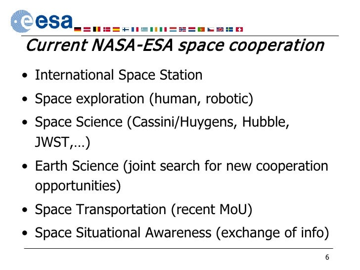 cooperation in space situational awareness essay Our products and enterprise solutions have a proven track record for space situational awareness (ssa) applications.