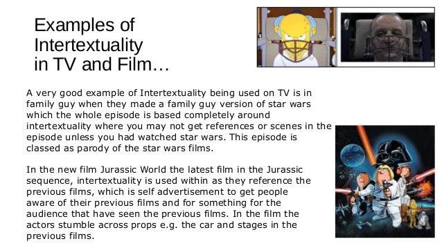 Intertextuality within media