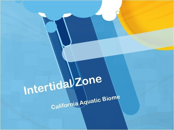 rt idal ZoneInte                              e                        ti c Biom                nia Aqua        Califor