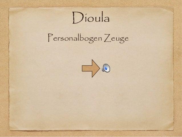 DioulaPersonalbogen Zeuge