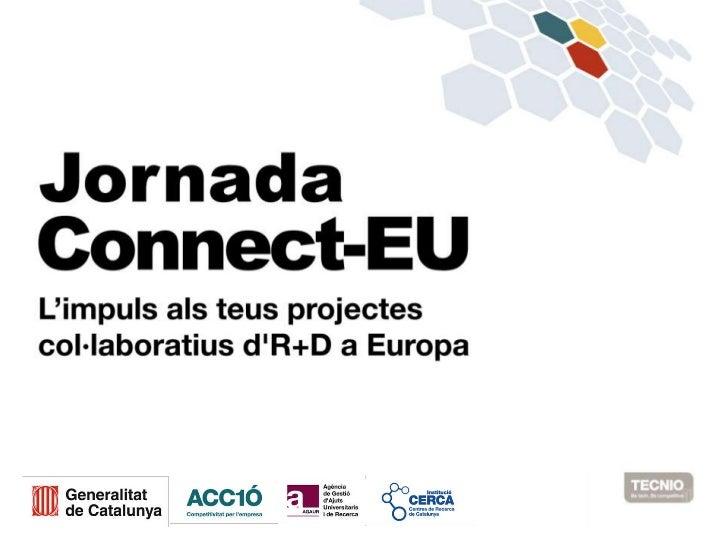 La recerca catalana a EuropaActius, resultats, posicionament i full de ruta20/09/2012Josep M. Martorell i RodonDirector ge...