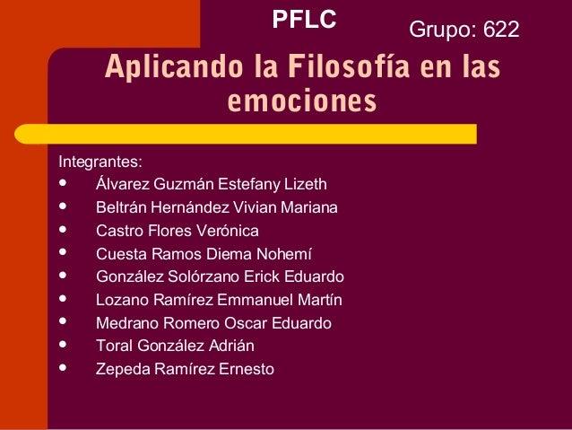 PFLCIntegrantes: Álvarez Guzmán Estefany Lizeth Beltrán Hernández Vivian Mariana Castro Flores Verónica Cuesta Ramos D...