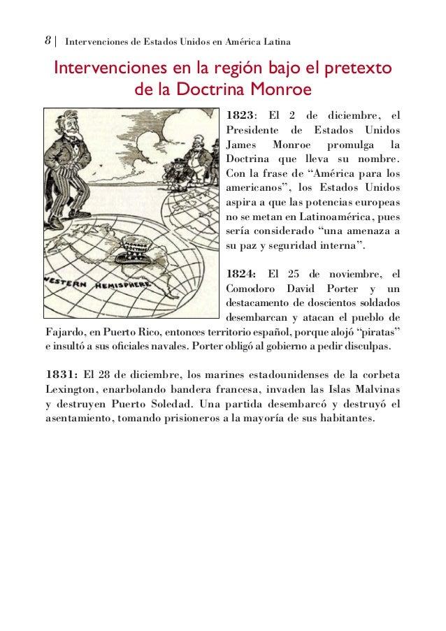 Gerald Jones Ford >> Intervenciones de estados unidos en America Latina